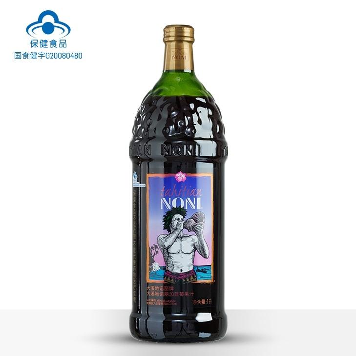 大溪地诺丽牌大溪地诺丽加蓝莓果汁1000ML (1瓶装)